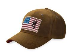 Browning Men's Liberty Wax Cap Cotton Dark Brown
