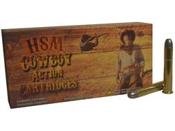 HSM Cowboy Action Ammunition 38-55 WCF 240 Grain Hard Cast Round Nose Flat Point Box of 20