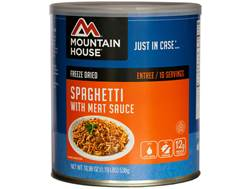 Mountain House 10 Serving Spaghetti with Meat Sauce Freeze Dried Food #10 Can