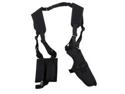 DeSantis V84 Dragonfly Shoulder Holster Ambidextrous Fits Large Frame Semi-automatics Nylon Black