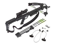 Carbon Express Blade Crossbow Package with 4x32 Deluxe Scope Black