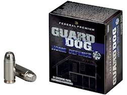 Federal Premium Guard Dog Home Defense Ammunition 45 ACP 165 Grain Expanding Full Metal Jacket Bo...