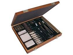 Outers 62-Piece Universal Cleaning Kit with Wooden Box