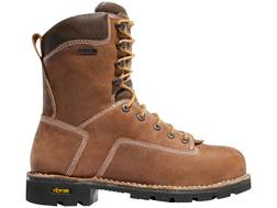 "Danner Gritstone 8"" Waterproof Aluminum Toe Work Boots Leather Brown Men's 11.5 D"