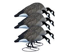 Higdon Alpha Magnum TruFeeder Full Body Canada Goose Decoy Polymer Pack of 6