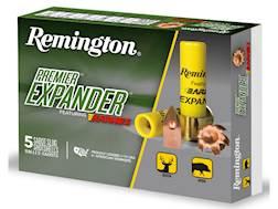 "Remington Premier Expander Slug Ammunition 20 Gauge 2-3/4"" 250 Grain Barnes Polymer Tipped Copper..."