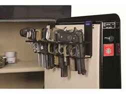 Rack'Em Racks The Holster Safe Door Pistol Rack Black