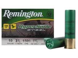 "Remington HyperSonic Ammunition 10 Gauge 3-1/2"" 1-1/2 oz #2 Non-Toxic Shot"