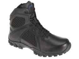"Bates Shock 6"" Waterproof Side-Zip Tactical Boots Leather/Nylon Men's"