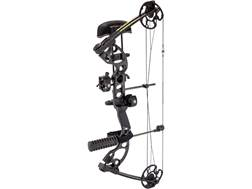 "Quest Radical DTH Compound Bow Package Right Hand 15-70 lb 17.5""-30"" Draw Length Black"