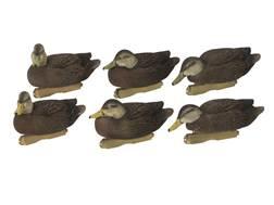 GHG FFD Pro-Grade Black Duck Harvester Duck Decoy Pack of 6