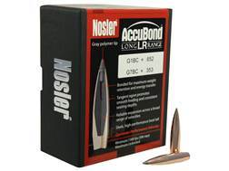 Nosler AccuBond Long Range Bullets 284 Caliber, 7mm (284 Diameter) 168 Grain Bonded Spitzer Boat ...