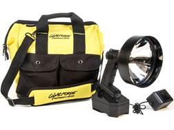 Lightforce Enforcer 170 Halogen Pack Handheld Spotlight with Rechargeable Battery Polymer Black