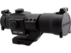 Holosun HS406A Red Dot Sight 1x 30mm 2 MOA Dot with Weaver-Style Cantilever Mount Matte