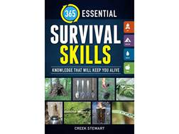 """365 Essential Survival Skills"" Book by Stewart Creek"