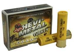 "Hevi-Shot Hevi-Metal Turkey Ammunition 20 Gauge 3"" 1 oz #4, #6 Hevi-Shot Non-Toxic Box of 5"