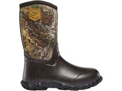 "LaCrosse 5mm Lil' Alpha Lite 16"" Waterproof Insulated Hunting Boots Rubber Over Neoprene Realtree..."