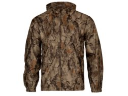 Natural Gear Stealth Hunter Waterproof Rain Jacket Polyester Natural Camo