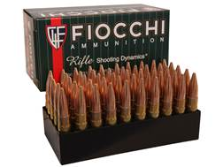Fiocchi Shooting Dynamics Ammunition 300 AAC Blackout 150 Grain Full Metal Jacket Boat Tail Case ...