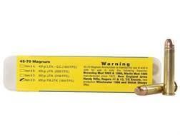 Buffalo Bore Ammunition 45-70 Government 500 Grain Full Metal Jacket Flat Nose Box of 20