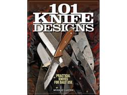 """101 Knife Designs"" Book by Murray Carter"