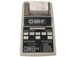 Shooting Chrony Ballistic Printer for Shooting Chrony Chronograph