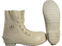 Military Surplus Mickey Boots Waterproof Insulated Rubber Grade 3 White 7 XW