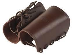 Hunter 1083 Cowboy Wrist Cuffs Leather Antique Brown