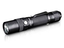 Fenix FD30 Flashlight LED Requires 2 CR123A or 1 18650 Rechargeable Battery Aluminum Black
