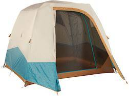 """Kelty Sequoia 4 Person Cabin Tent 88"""" x 98"""" x 78"""" Polyester Deep Teal/Canyon"""