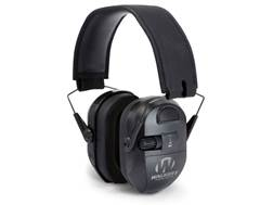 Walker's Ultimate Power Muff Electronic Earmuffs (NRR 26dB) Black
