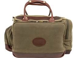 MidwayUSA Waxed Canvas 40th Anniversary Pistol Range Bag Olive Brown