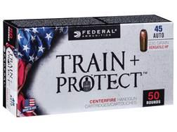 Federal Train + Protect Ammunition 45 ACP 230 Grain Versatile Hollow Point