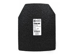 "AR500 Body Armor Stand Alone Lightweight Ballistic Plate IIIA Right Hand Shooter's Cut 10"" x 12"" ..."