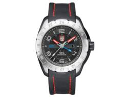 Luminox XCOR Aerospace Watch Leather/Stainless Steel Black
