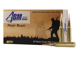 ABM Hunt Ready Ammunition 338 Lapua Magnum 250 Grain Berger Match Elite Hunter Box of 20