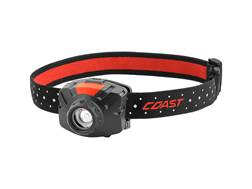Coast FL60 Headlamp LED Focusable Variable Power with 3 AAA Batteries Aluminum Black