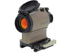 Aimpoint Micro T-2 Red Dot Sight 2 MOA Dot with LRP Mount and 39mm Spacer Flat Dark Earth
