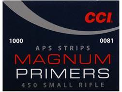 CCI Small Rifle APS Magnum Primers Strip #450