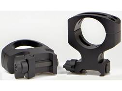 Warne MSR 2-Piece Quick-Detachable Picatinny-Style Rings Matte MSR Height