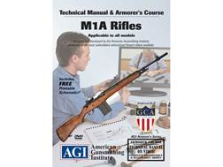 "American Gunsmithing Institute (AGI) Technical Manual & Armorer's Course Video ""M1A Rifle"" DVD"