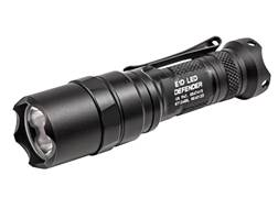 Surefire E1D Defender Flashlight LED with 1 CR123A Battery Aluminum Black