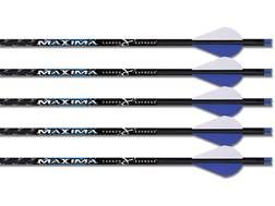 "Carbon Express Maxima Blue Streak Carbon Crossbow Bolt 2"" Vanes Black Pack of 5"