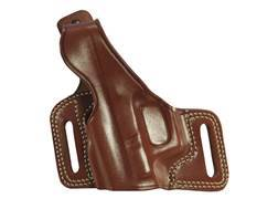 Galco Silhouette High Ride Belt Holster Left Hand Glock 20, 21, 41 Leather Tan
