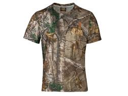 Browning Men's Scope Logo T-Shirt Short Sleeve Polyester Realtree Xtra Camo