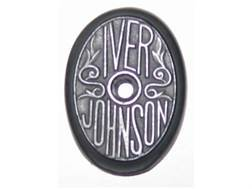 Vintage Gun Grip Cap Iver Johnson Skeeter Polymer Black