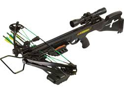 PSE Fang 350 Crossbow Package with 4x32 Scope Black