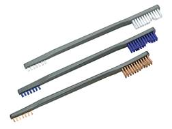 Otis All Purpose Gun Cleaning Brush Double Ended Nylon and Bronze Package of 3