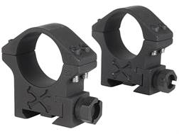 Talley 34mm Tactical Picatinny-Style Rings Matte (Black Armor)