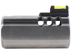 Volquartsen V-Comp Compensator with Fiber Optic Front Sight Slab-Side Barrel Ruger Mark II, Mark ...